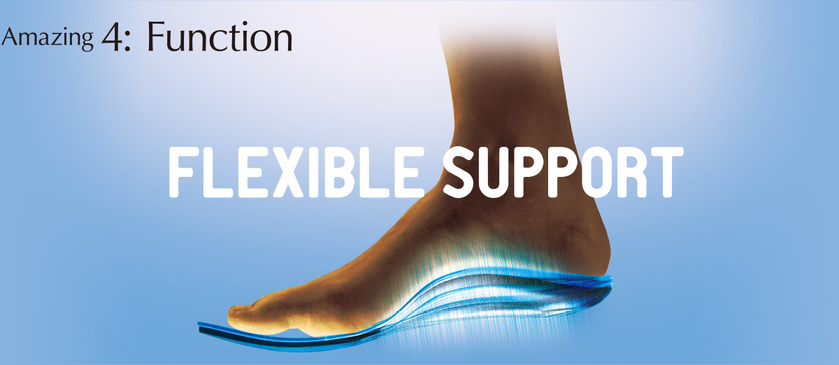 Amazing 4: Function FLEXIBLE SUPPORT